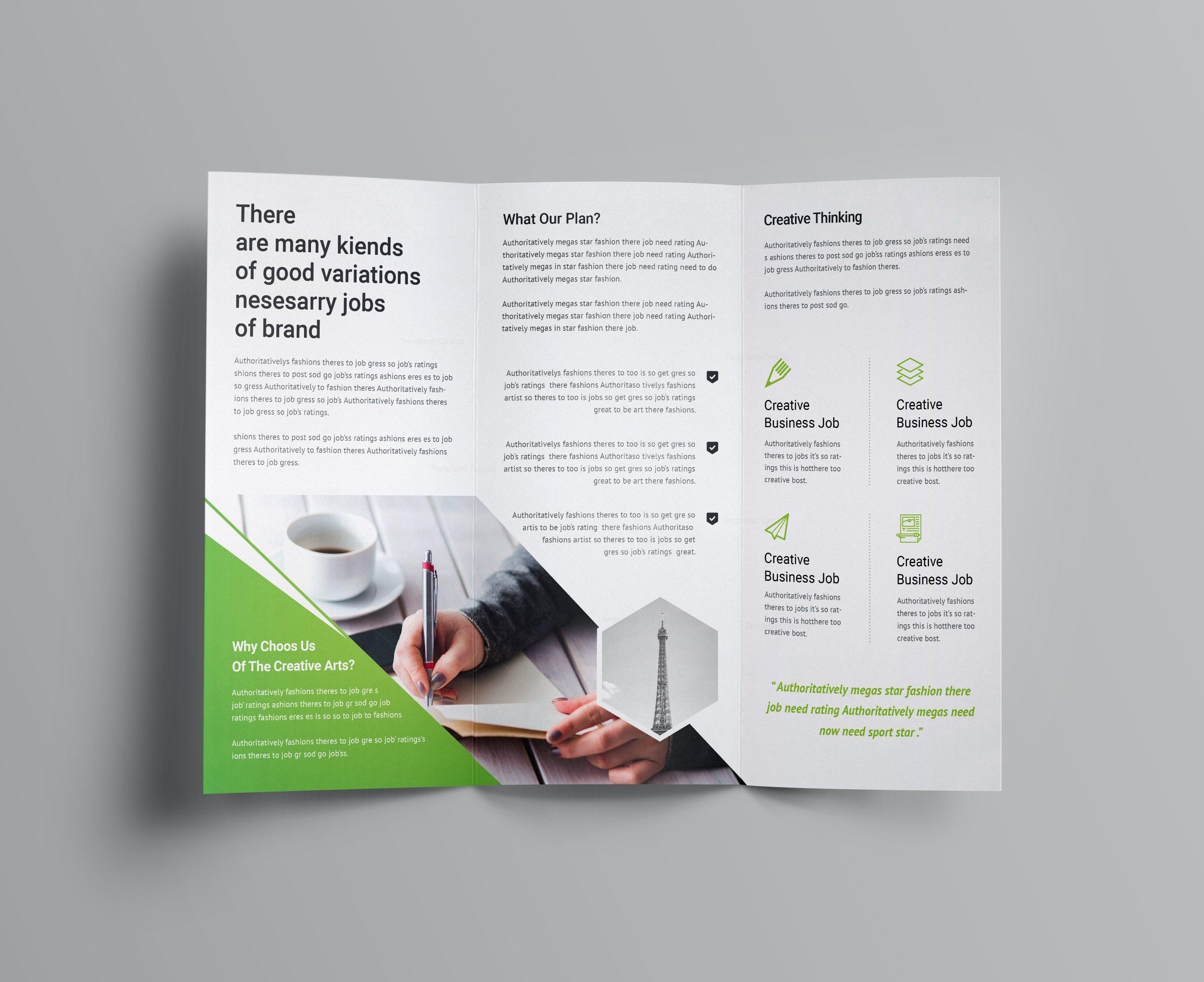 professional tri fold brochure templates vatoz atozdevelopment co