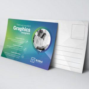 Professional Stylish Postcard Template