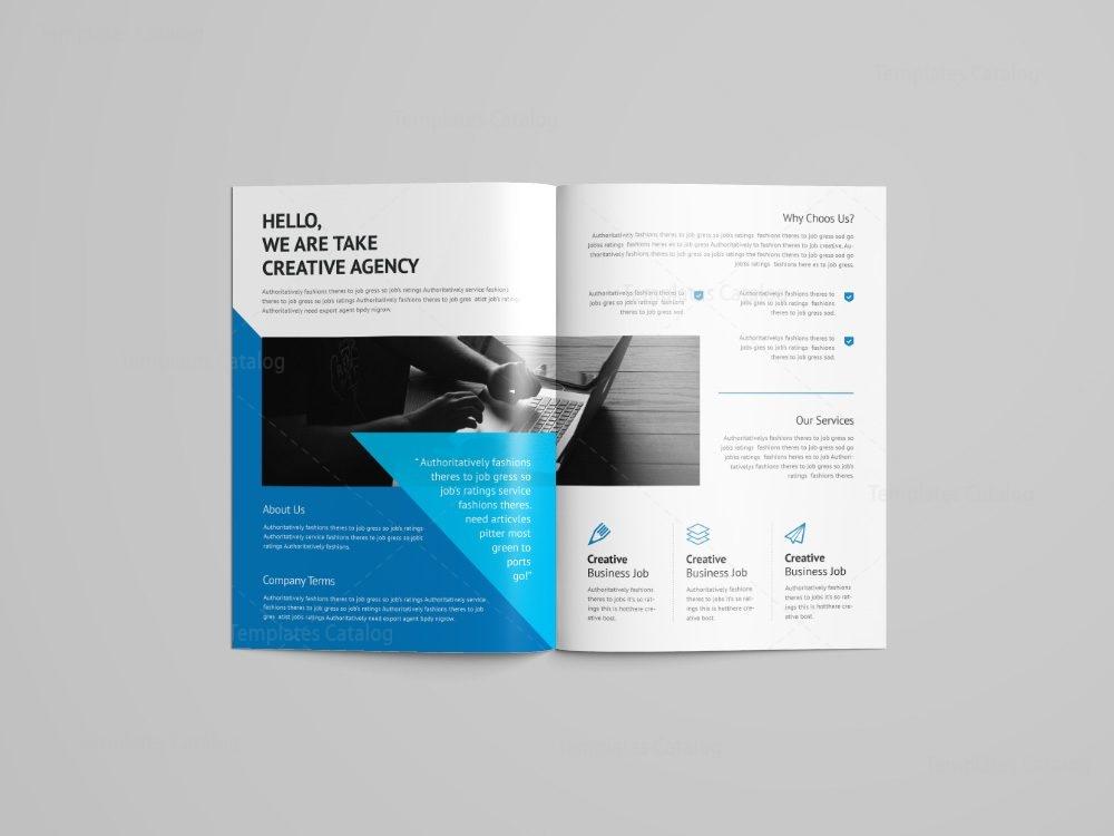 Rigel Professional Bi Fold Brochure Template 001085 Template Catalog