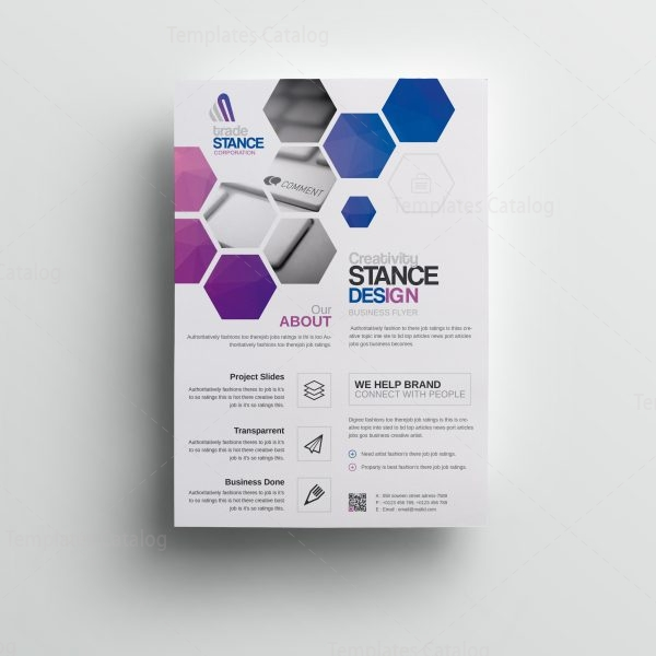 Saturn Stylish Premium Business Flyer Template 001075 - Template Catalog