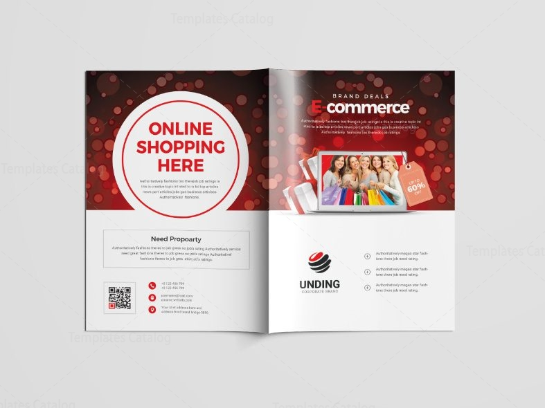 Magnificent online brochure template crest resume ideas for How to be a professional shopper
