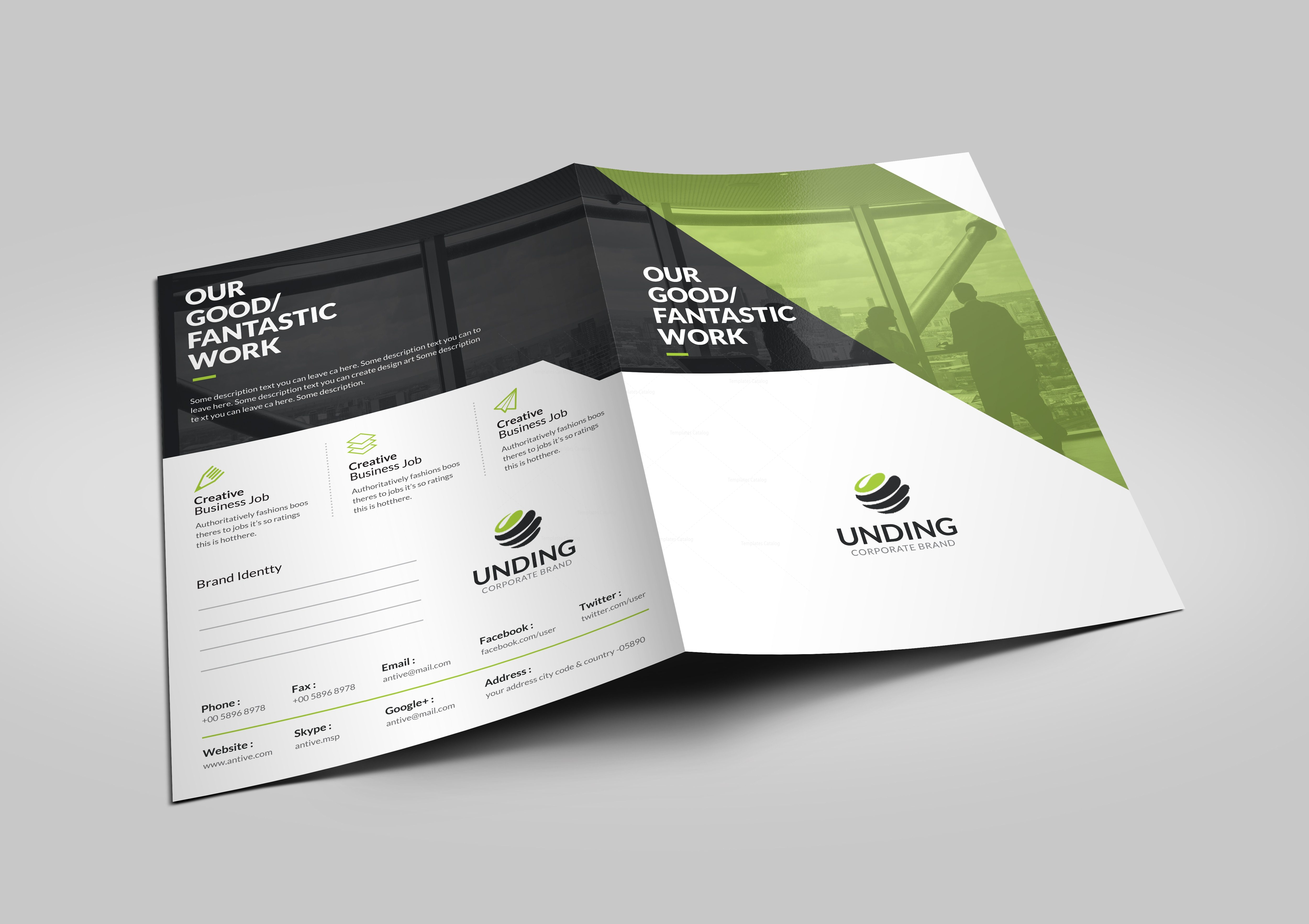 Sirius sleek corporate presentation folder template 001184 sirius sleek corporate presentation folder template 2 wajeb Choice Image