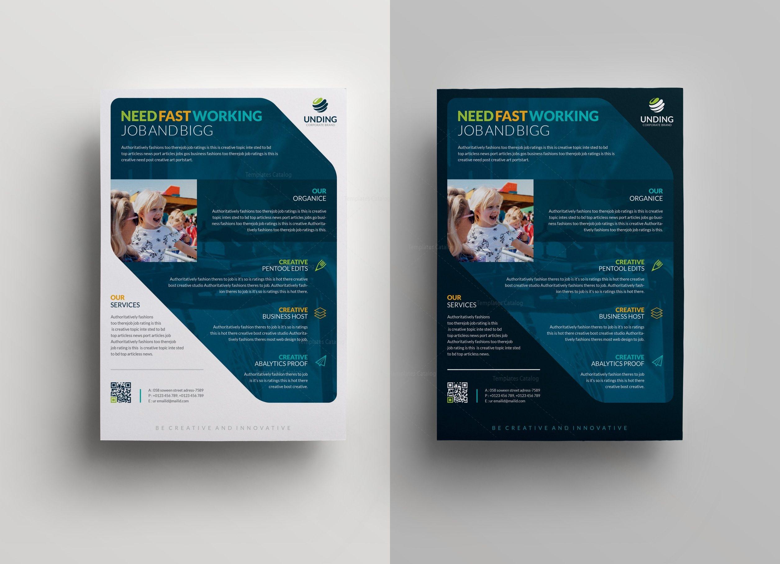 Sphinx Elegant Premium Business Flyer Template Template - Business brochure template
