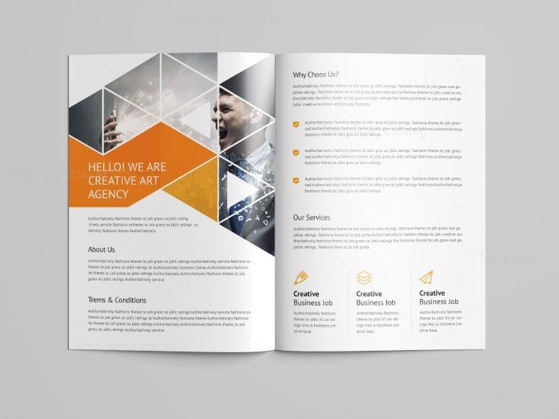 Stunning Professional BiFold Brochure Template Template - Fold out brochure template