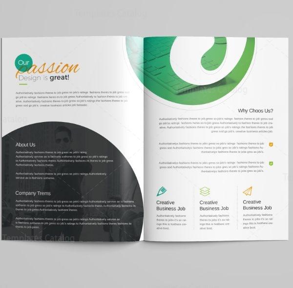 Venus Professional Bi-Fold Brochure Template 2