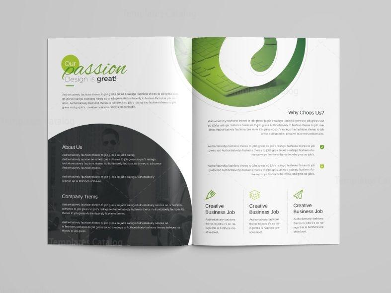 professional brochure template - venus professional bi fold brochure template 001096