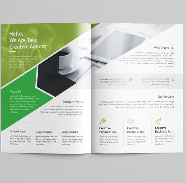 Versatile Professional Bi-Fold Brochure Template 4