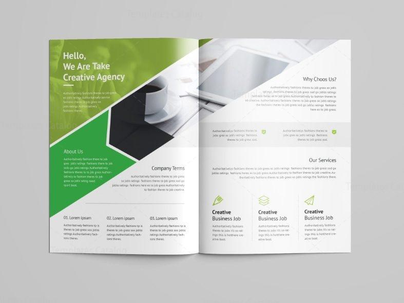 Versatile Professional Bi Fold Brochure Template 001089 Template