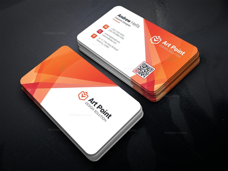 Alastor Professional Corporate Business Card Template 001318 ...