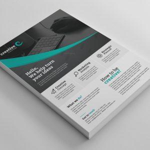 Amsterdam Elegant Professional Business Flyer Template