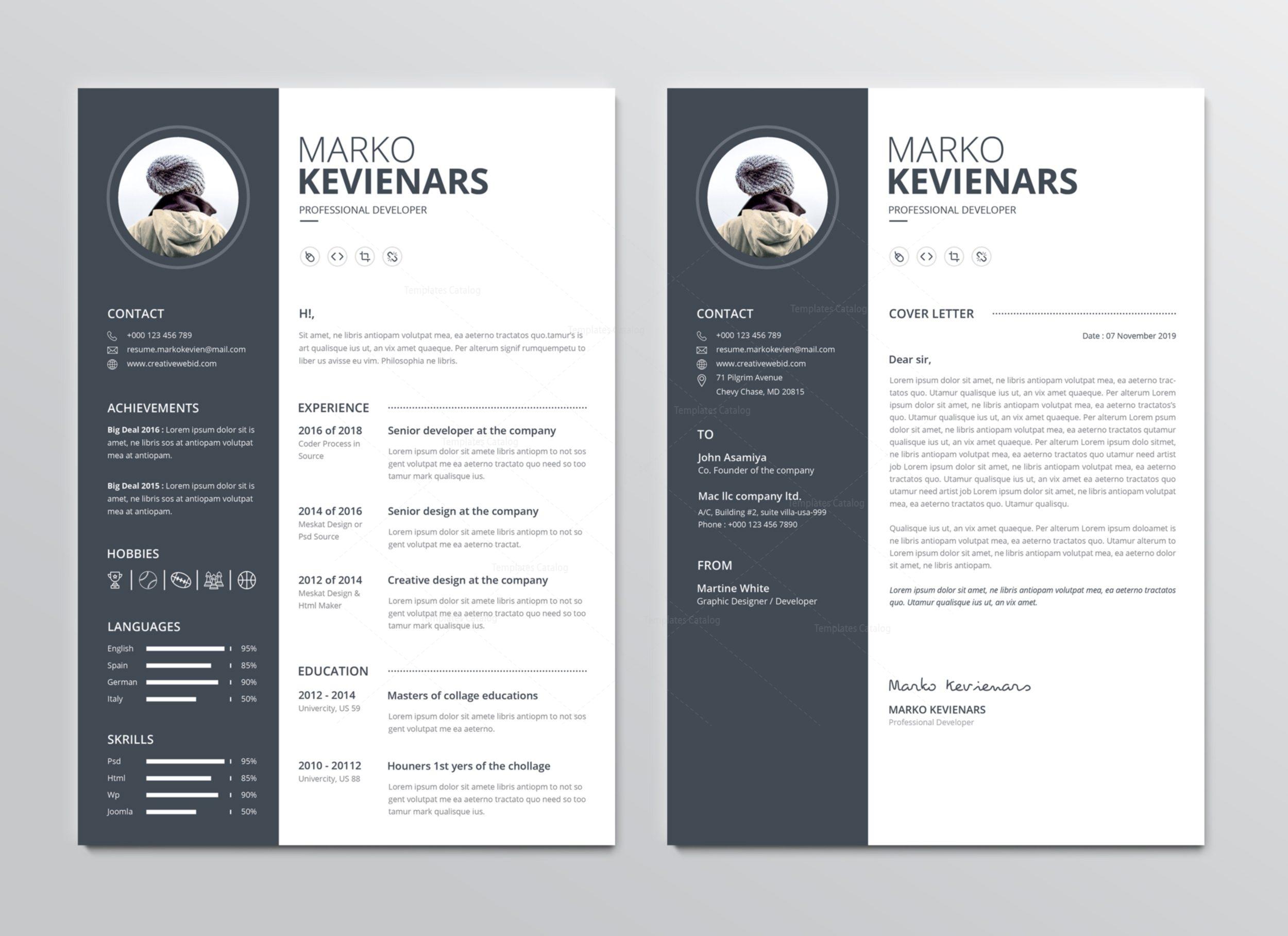 premium resume - Romeo.landinez.co
