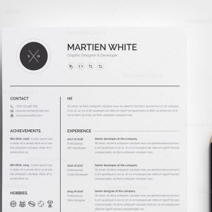 Artemis Premium Professional Resume Template