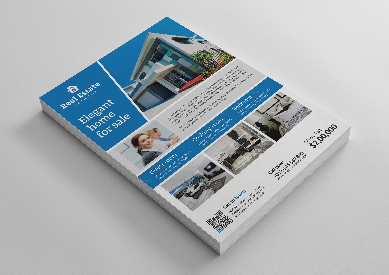 bargain real estate flyer design template 001485 template catalog