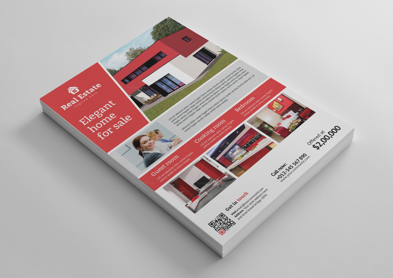 real estate flyer design templates