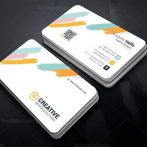 Boreas Creative Corporate Business Card Template 1