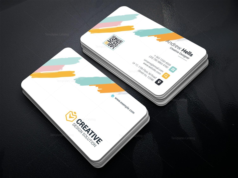 Boreas Creative Corporate Business Card Template