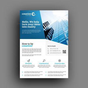 Budapest Stylish Professional Business Flyer Template