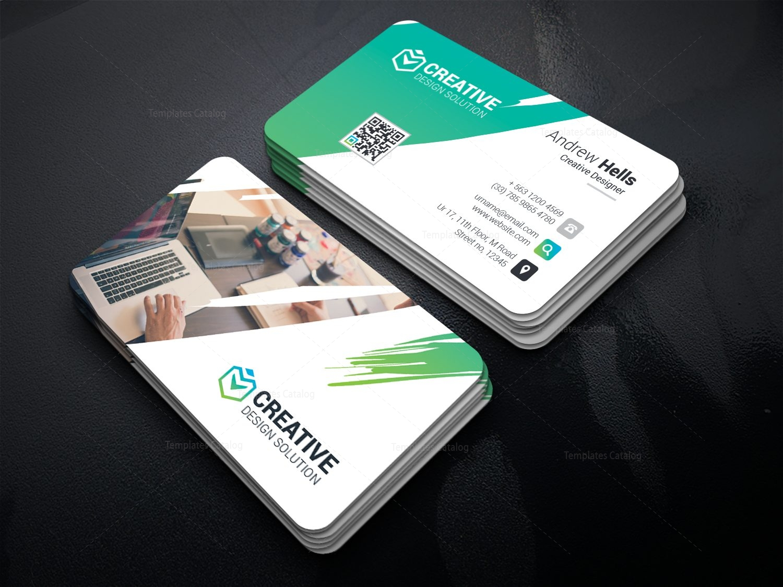 Caerus Professional Corporate Visit Card Template