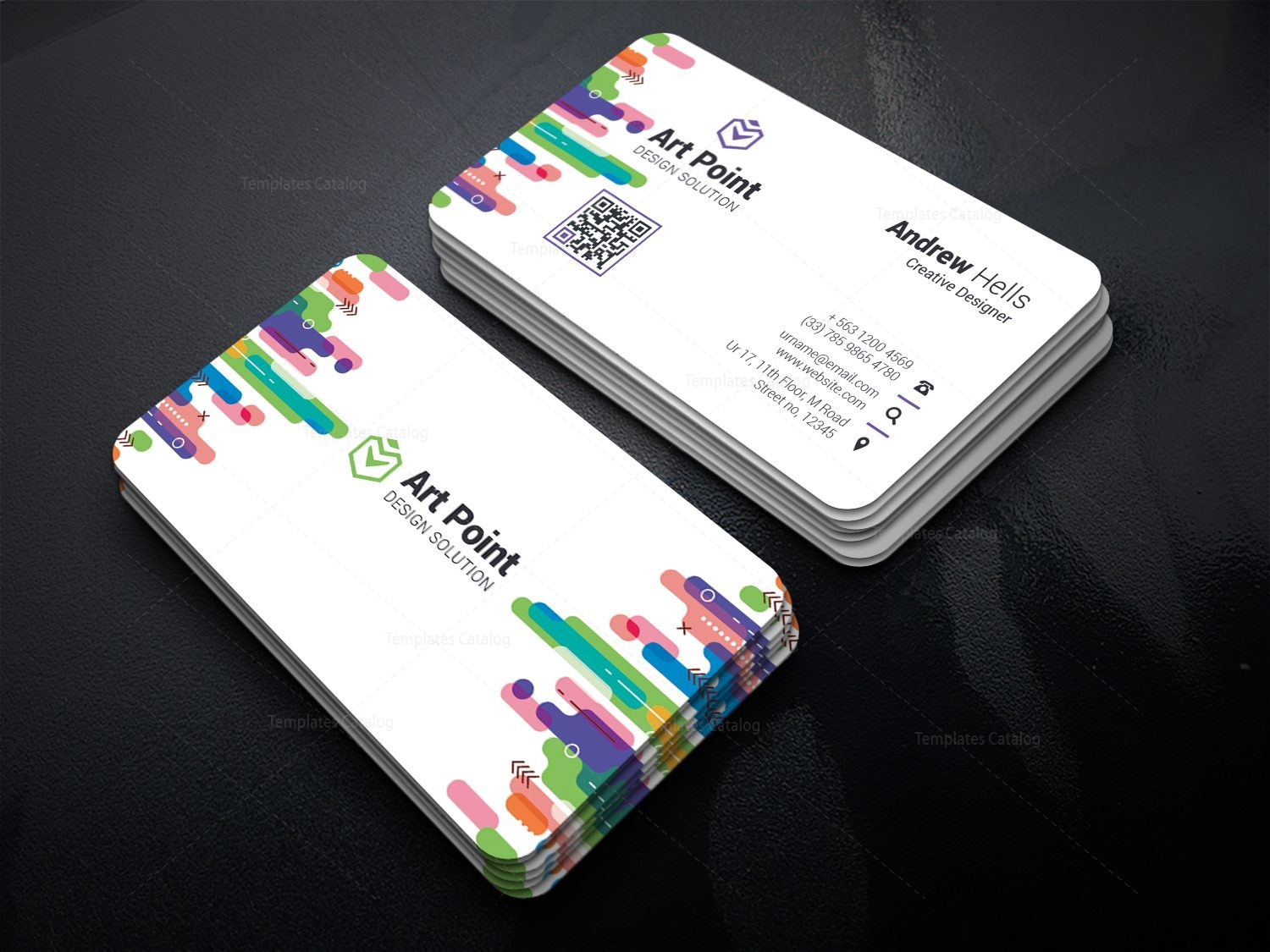 California Elegant Corporate Business Card Template 001362 ...