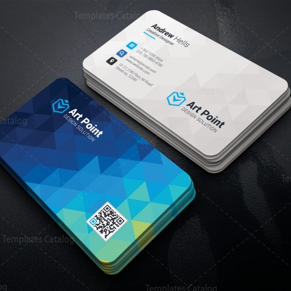 Cerus Professional Corporate Visiting Card Template 1
