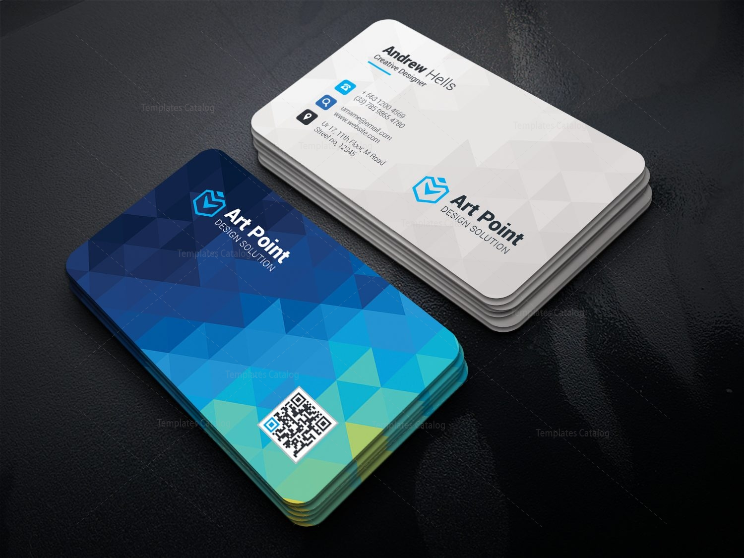 Cerus Professional Corporate Visiting Card Template