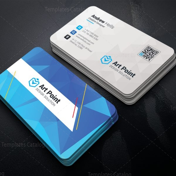Charon Professional Corporate Visiting Card Template 1