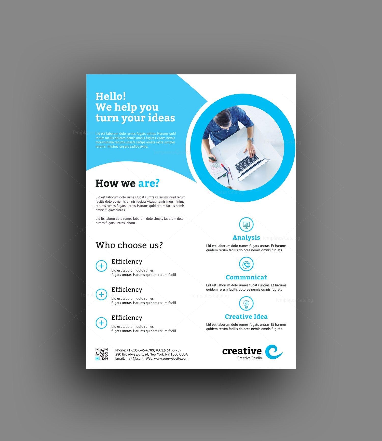 Ausgezeichnet Corporate Flyer Vorlage Bilder - Beispiel ...