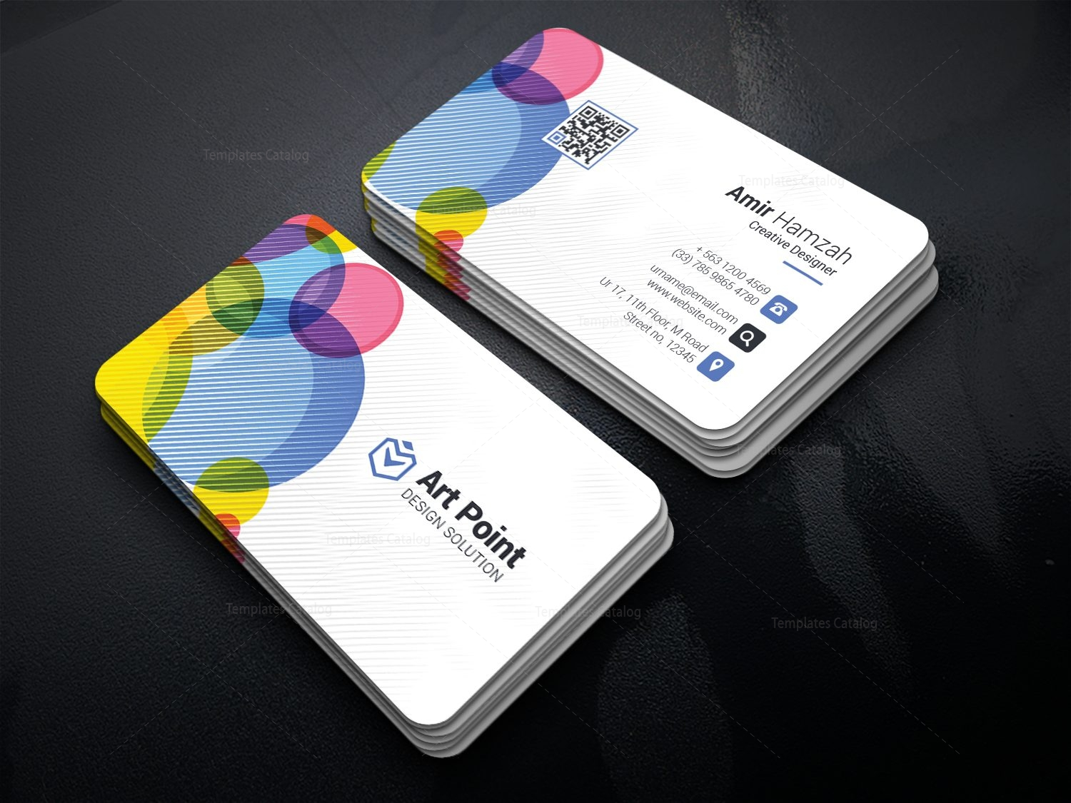 credit card business card template - Roho.4senses.co