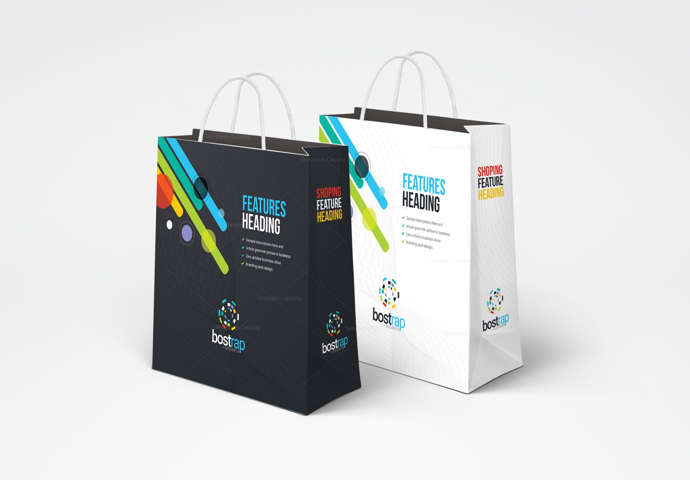 Bag Design Template