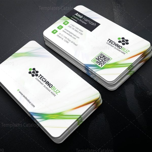 Crios Professional Corporate Visiting Card Template 1