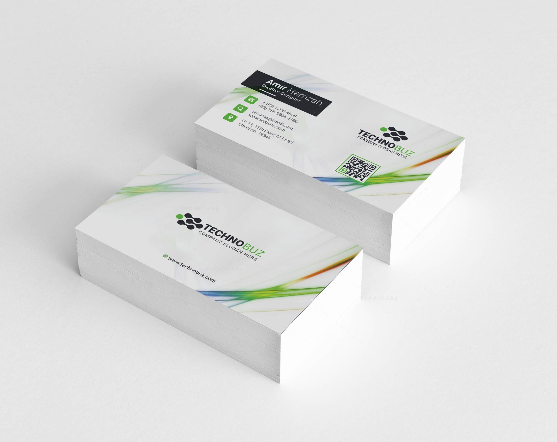 Crios Professional Corporate Visiting Card Template 001336 ...