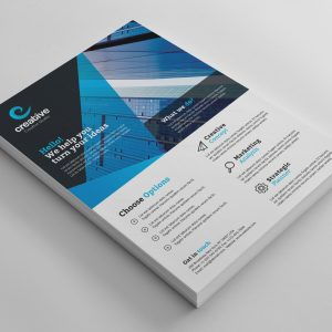 Dallas Versatile Professional Business Flyer Template