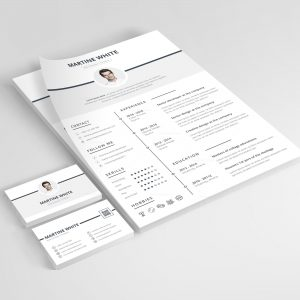 Demeter Premium Professional Resume Template