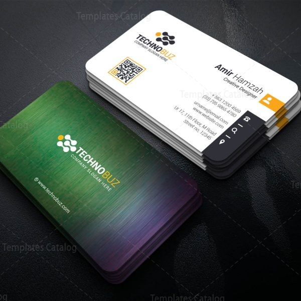 Dinlas Professional Corporate Visiting Card Template 1