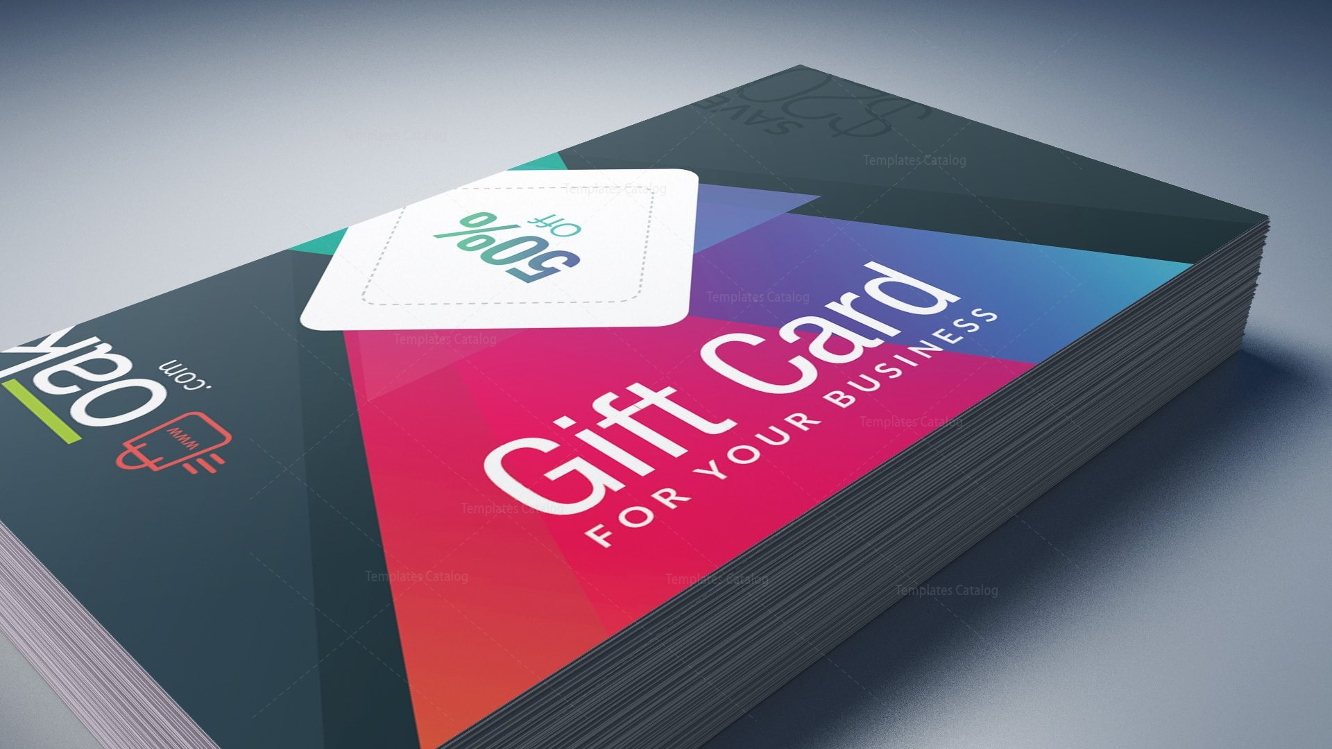 excellent corporate gift card template 001254