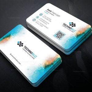 Glaucus Elegant Corporate Business Card Template