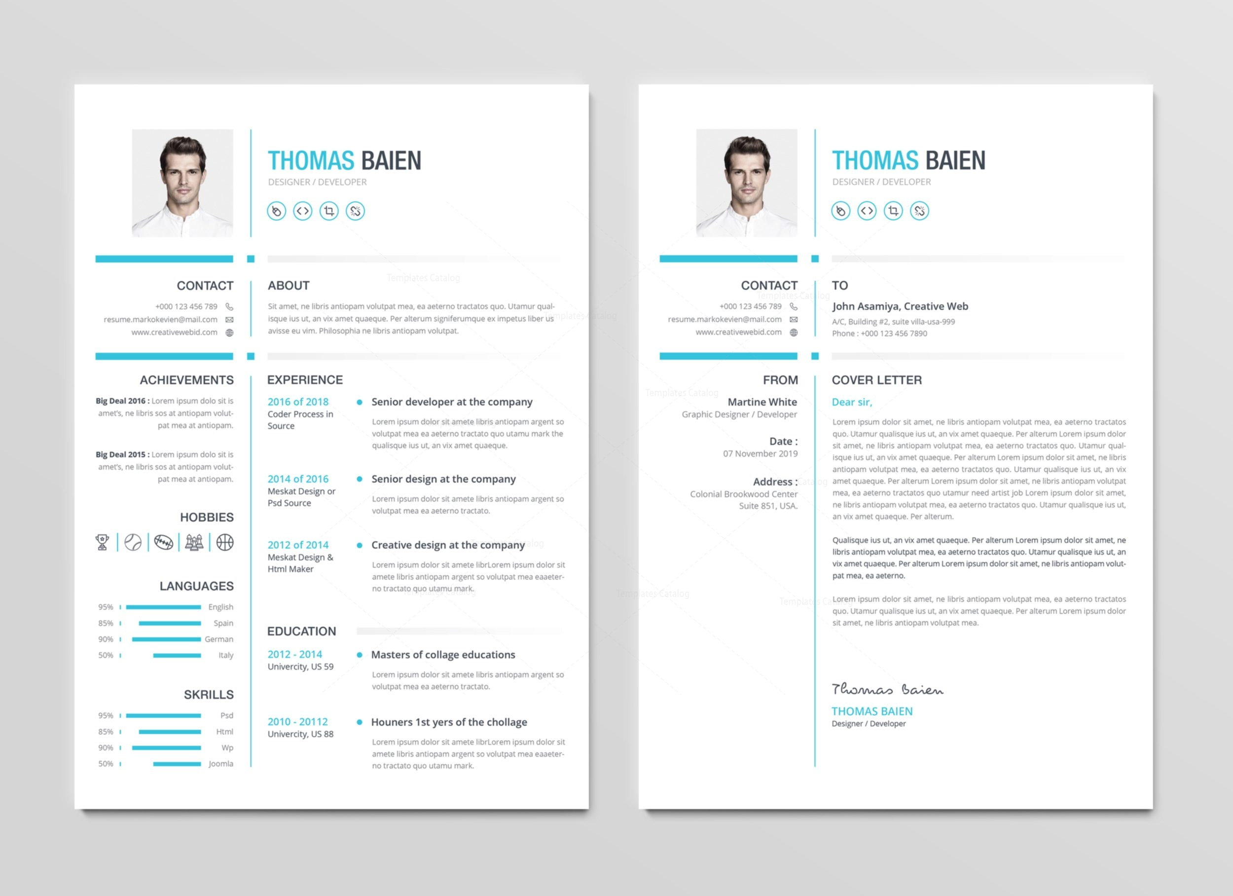 Hades premium professional resume template 001267 template catalog hades premium professional resume template 2 yelopaper Choice Image