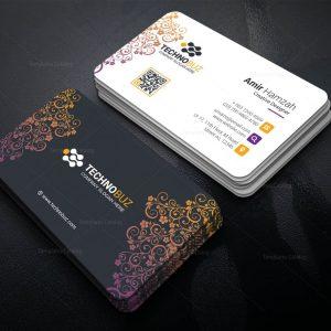 Helios Elegant Corporate Business Card Template