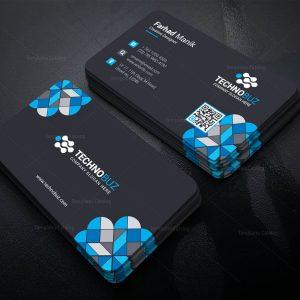 Hermes Creative Corporate Business Card Template