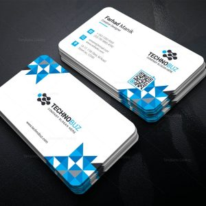 Hesperus Creative Corporate Business Card Template
