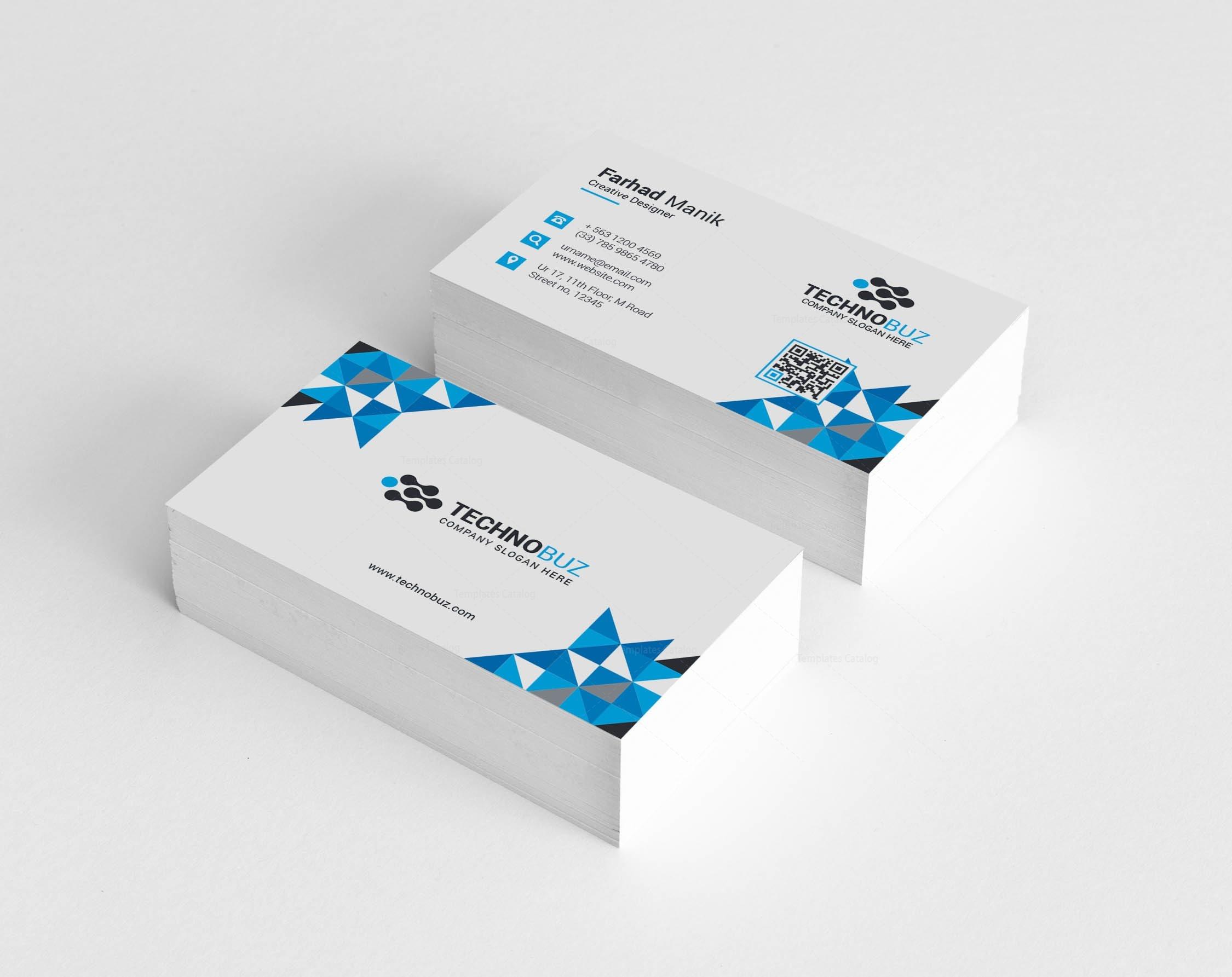 Hesperus creative corporate business card template 001353 template hesperus creative corporate business card template 2 reheart Choice Image