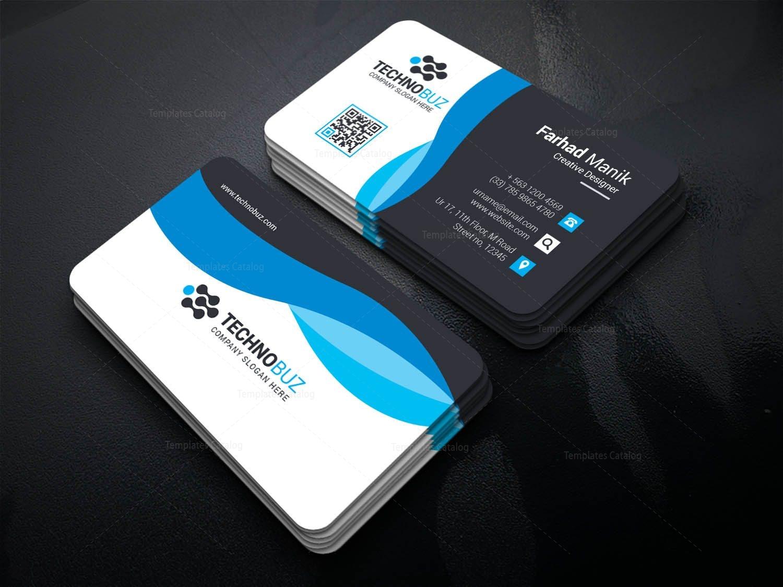 Hypnos Creative Corporate Business Card Template 001355 - Template ...