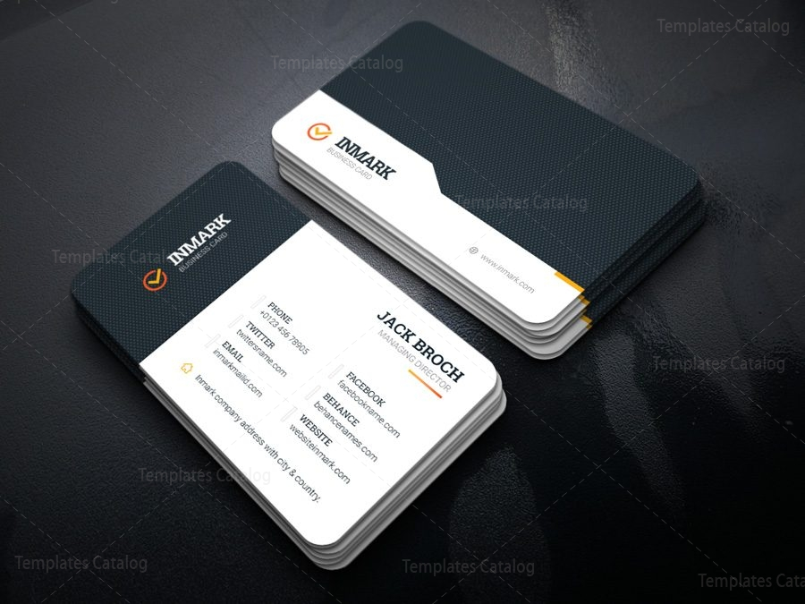 Inmark Creative Corporate Business Card Template