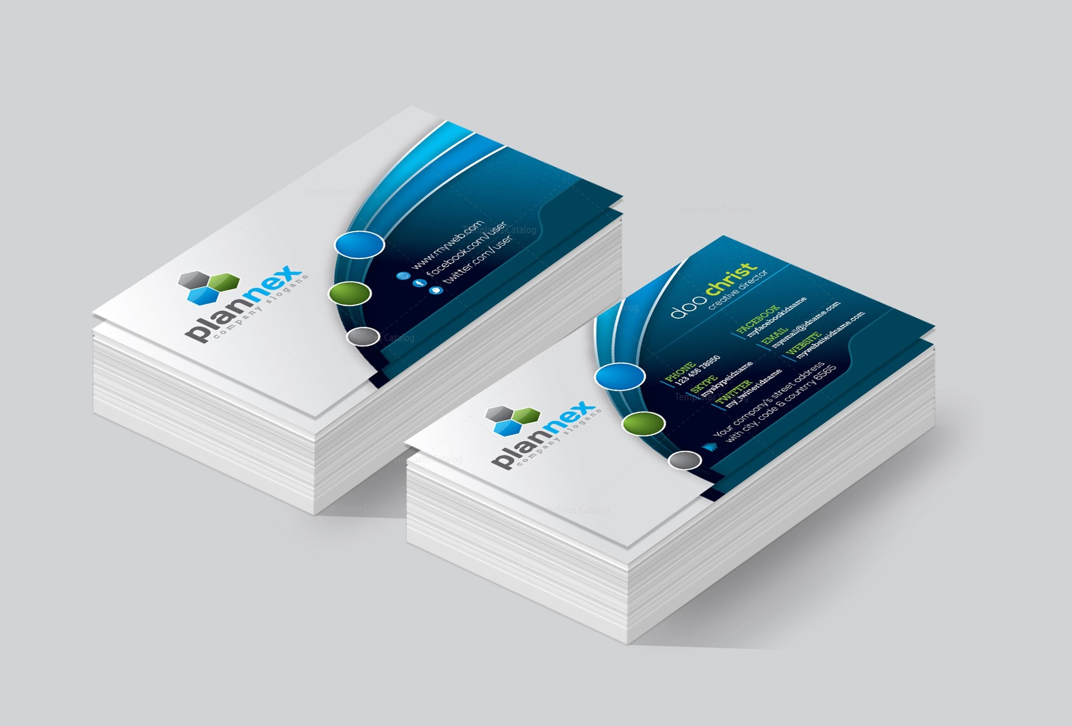 Kansas premium corporate business card template 001446 template kansas premium corporate business card template 2 accmission Image collections