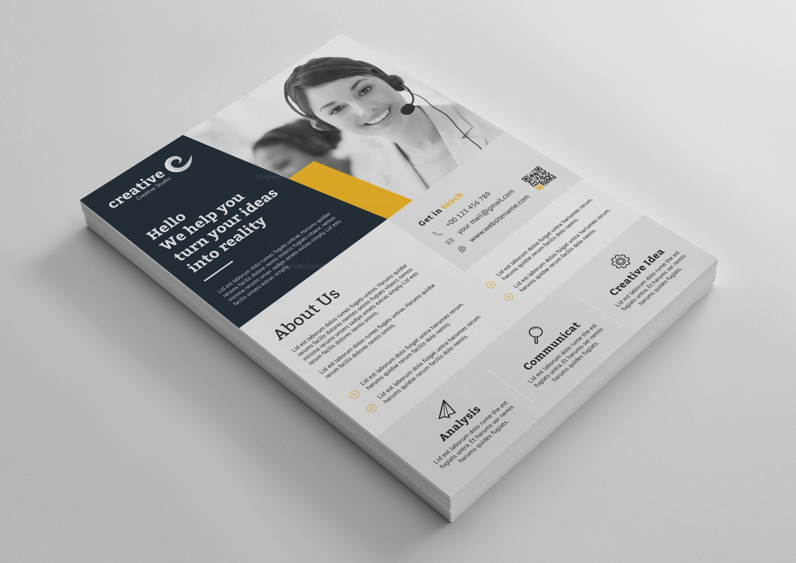 Liverpool modern business corporate flyer template 001416 template liverpool modern business corporate flyer template 3 reheart Image collections
