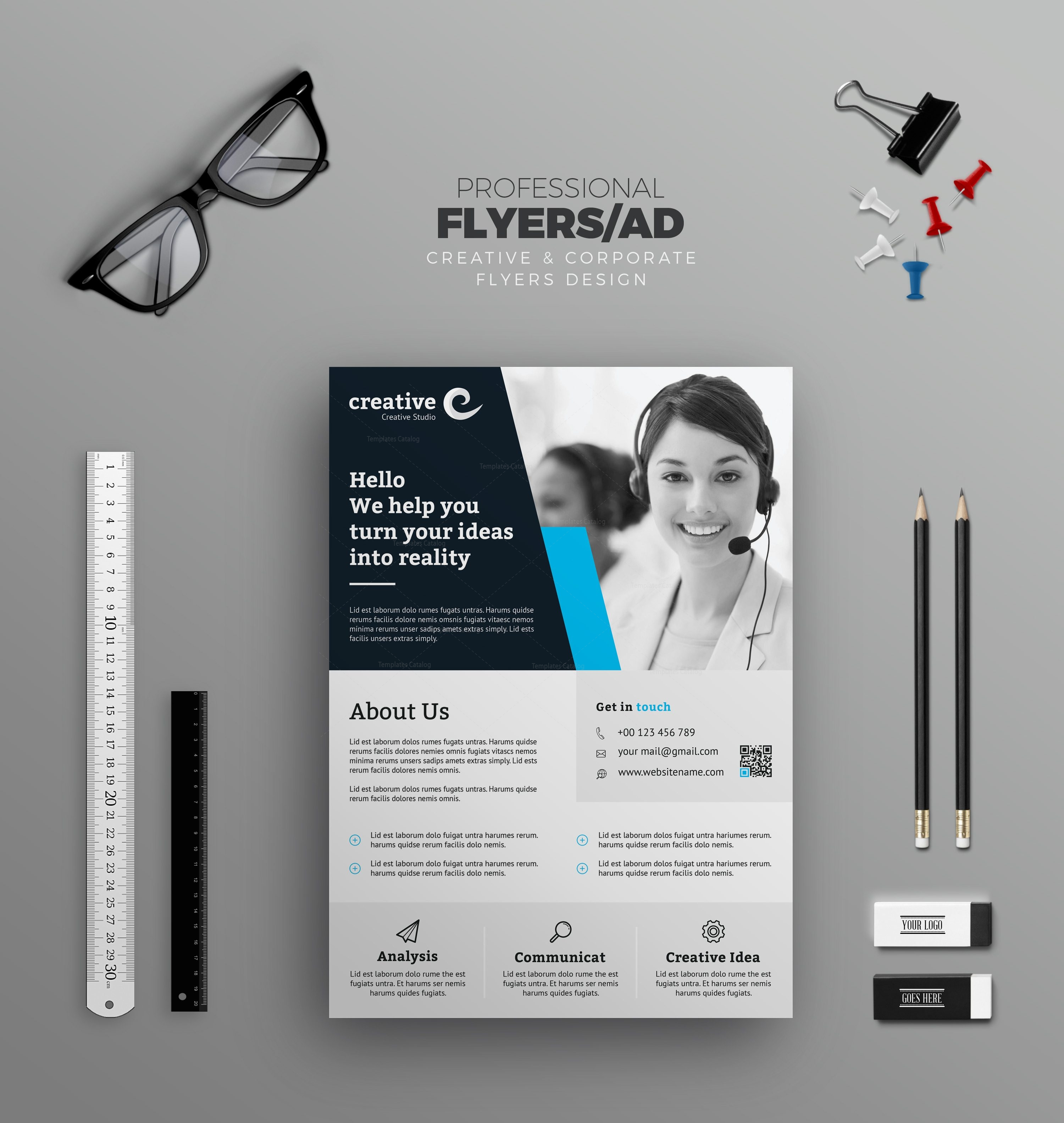 Liverpool modern business corporate flyer template 001416 template liverpool modern business corporate flyer template 5 reheart Image collections