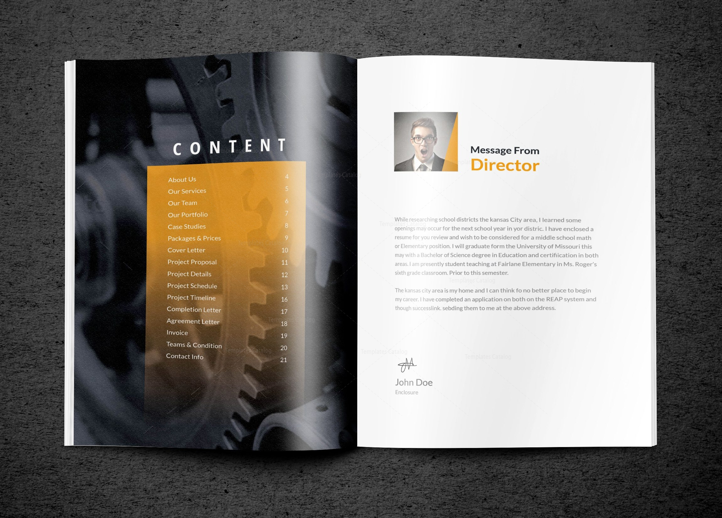 Master-Premium-Business-Bi-Fold-Brochure-Template-2  Inch Letter Templates on basic cover, sample business, sample request,