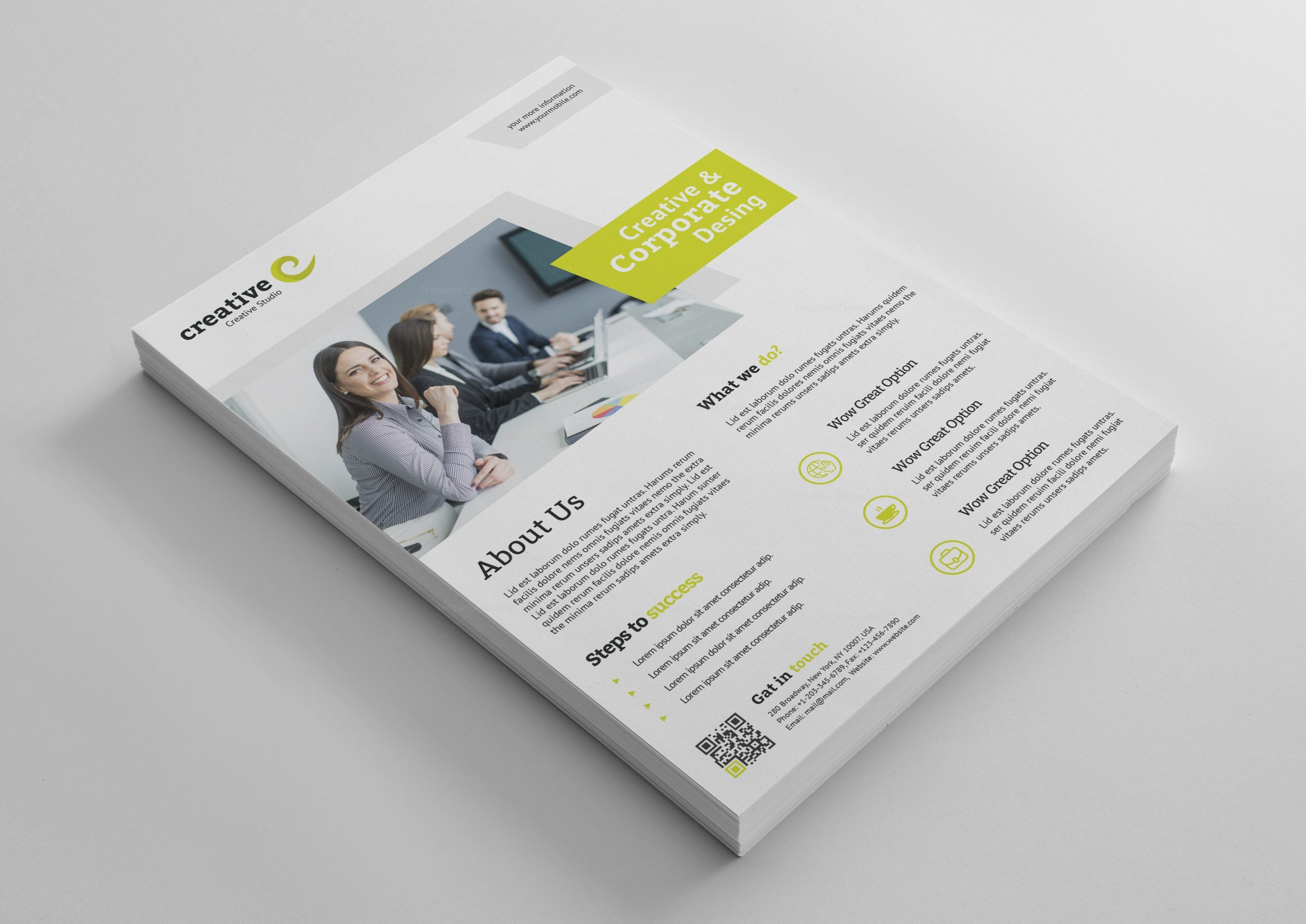 Melbourne modern professional flyer template 001399 template catalog melbourne modern professional flyer template 3 reheart Images
