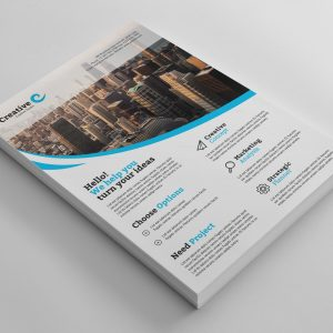 Montreal Sleek Professional Business Flyer Template