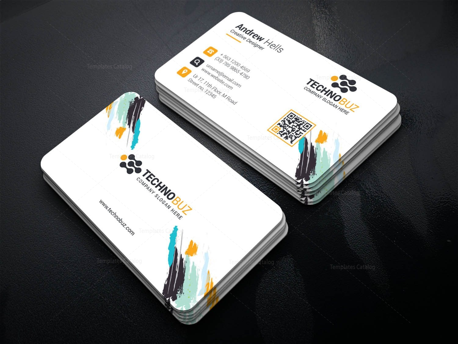 Morpheus Creative Corporate Business Card Template 001358 ...